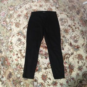 J BRAND cropped zip pants